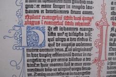 Seite Gutenbergbibel